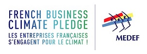 Logo-French Business Climate Pledge - MEDEF